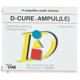 D-Cure 4 Ampoules Vitamine D cure