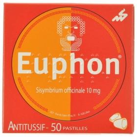 Euphon Pastilles a Sucer 50g