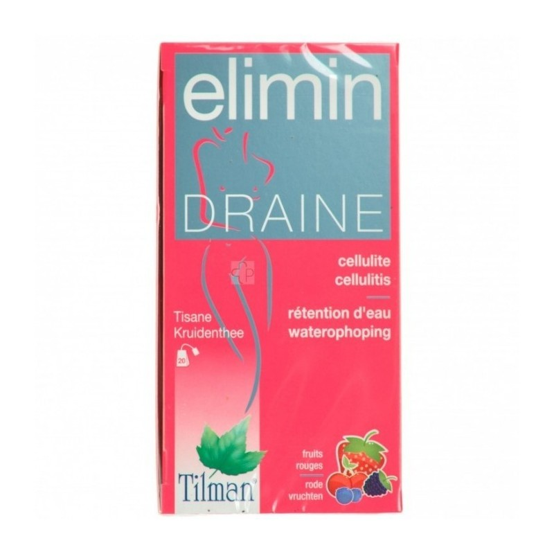 Elimin Draine Fruits Rouges Tea-bags 20