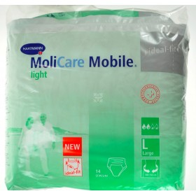 Molicare Mobile Light Large 100-150 Cm 14pc