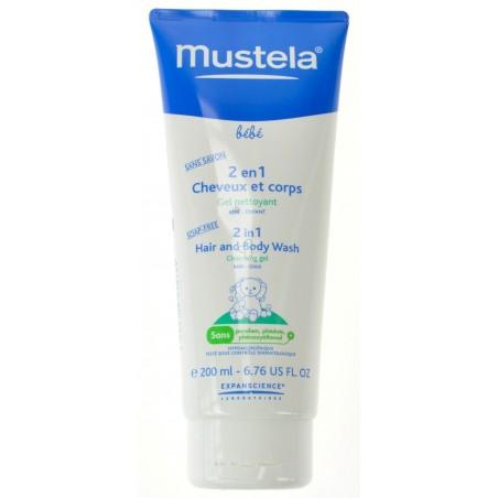 Mustela Bb 2 En 1 Cheveux et Corps 200ml