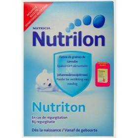 Nutriton En Cas de Régurgitation