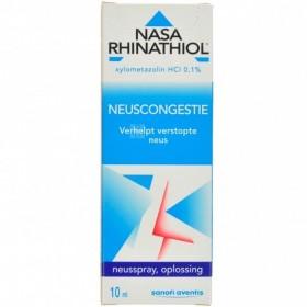 Nasa Rhinathiol 0,1% flacon Microdos 10ml Adulte