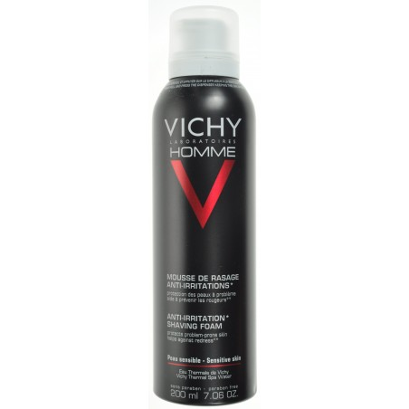 Vichy Homme Mousse a Raser Anti Irritation 200ml