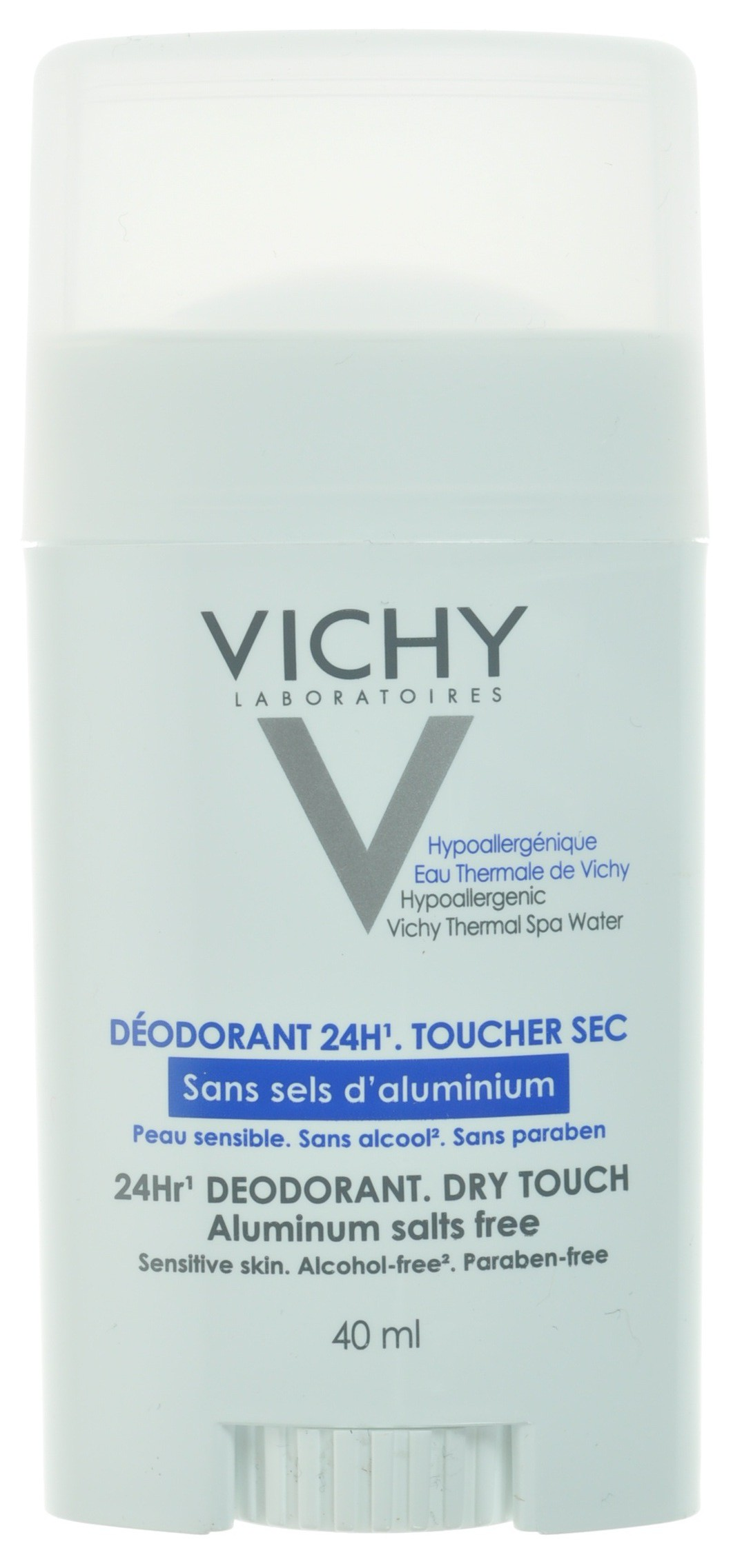 vichy deodorant stick 24h sans sel aluminium 40ml acheter en ligne. Black Bedroom Furniture Sets. Home Design Ideas