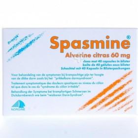 Spasmine 40 Caps 60mg