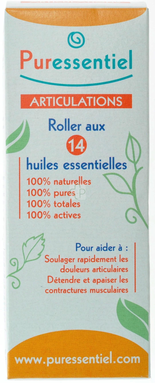 puressentiel articulation roller 14 huiles essentielles 75ml acheter en ligne. Black Bedroom Furniture Sets. Home Design Ideas