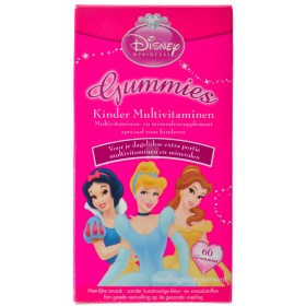 Disney Multivitamines enfants Princess Gummies 60
