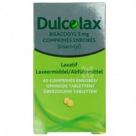 Dulcolax Bisacodyl 40 Drag