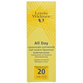 Louis Widmer Sun All Day 15 Sans Parfum Tube 1x100ml