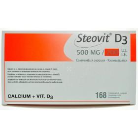Steovit D3 500mg/200 comprimes 168