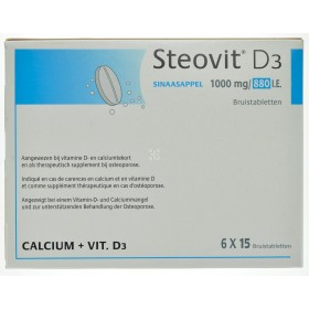 Steovit D3 1000mg/880 comprimes effervescents 90