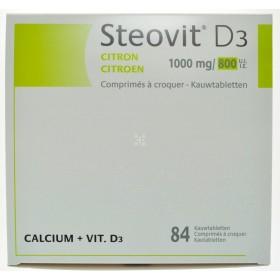 Steovit D3 1000mg/800 comprimes a Croquer 84