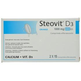 Steovit D3 1000mg/880 comprimes effervescents 30