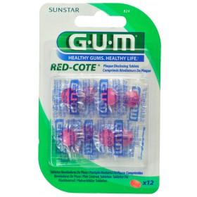 Gum Revelateur Plaque Red Cote comprimes 12 824