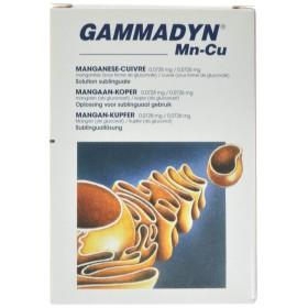 Gammadyn ampoules 30 X 2 ml Mn-cu