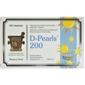 D-pearls 200 Capsules 120  Vitamine D