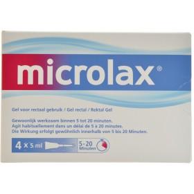 Microlax 4 X 5 ml