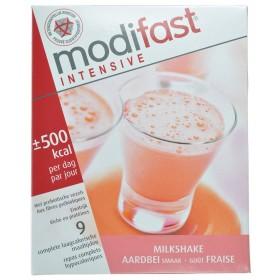 Modifast Milkshake Fraise sachet 9