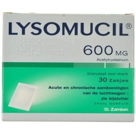Lysomucil 600 Gran Sachets 30 X 600 Mg