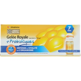Arkoroyal Probiotiques Adultes Ruche Royale Doses 7x7,5ml