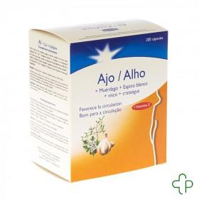 Bional Ail+gui+aubepine+vit E Caps 200