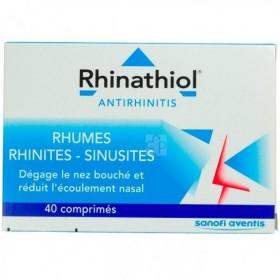 Rhinathiol Antirhinitis 40 Comprimés