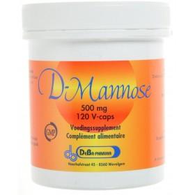 D-mannose 500mg V-Capsules 120 Deba