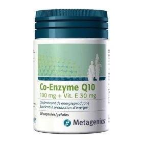 Coenzyme Q10 100mg + Vtt E Caps 30 6492