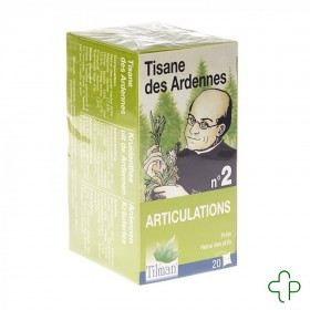 Tisane Ardenaise Nr. 2 Rhumatisme 20 Infusettes