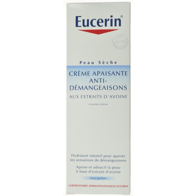 eucerin peau seche creme anti demangeaisons 200ml acheter en ligne. Black Bedroom Furniture Sets. Home Design Ideas