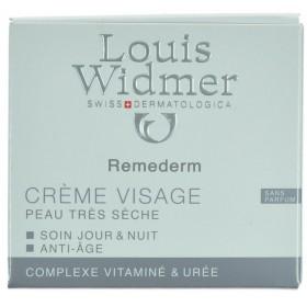 Louis Widmer Remederm Creme Visage Sans Parfum 50ml