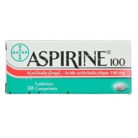 Aspirine 100 Mg Comprimés 30