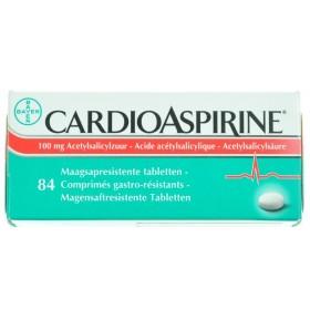 Cardioaspirine Comprimés 84 X 100mg