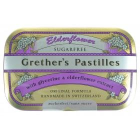 Grether's Elderflower Sureau-jus Fruits Sans sucre 110g