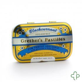 Grether's Pastilles Blackcurrant Ss Dragées 60g