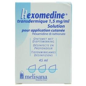 Hexomedine Solution Transcutanée 45ml - Acheter en ligne