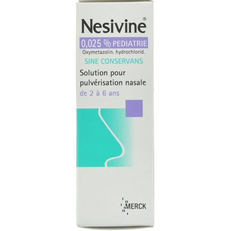 Nesivine Pediatrie 0,025% Spray Nasal 10ml