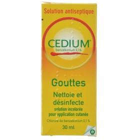 Cedium Qualiphar Sol. 30 ml