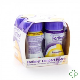 Fortimel Compact Protein Banane 4x125ml