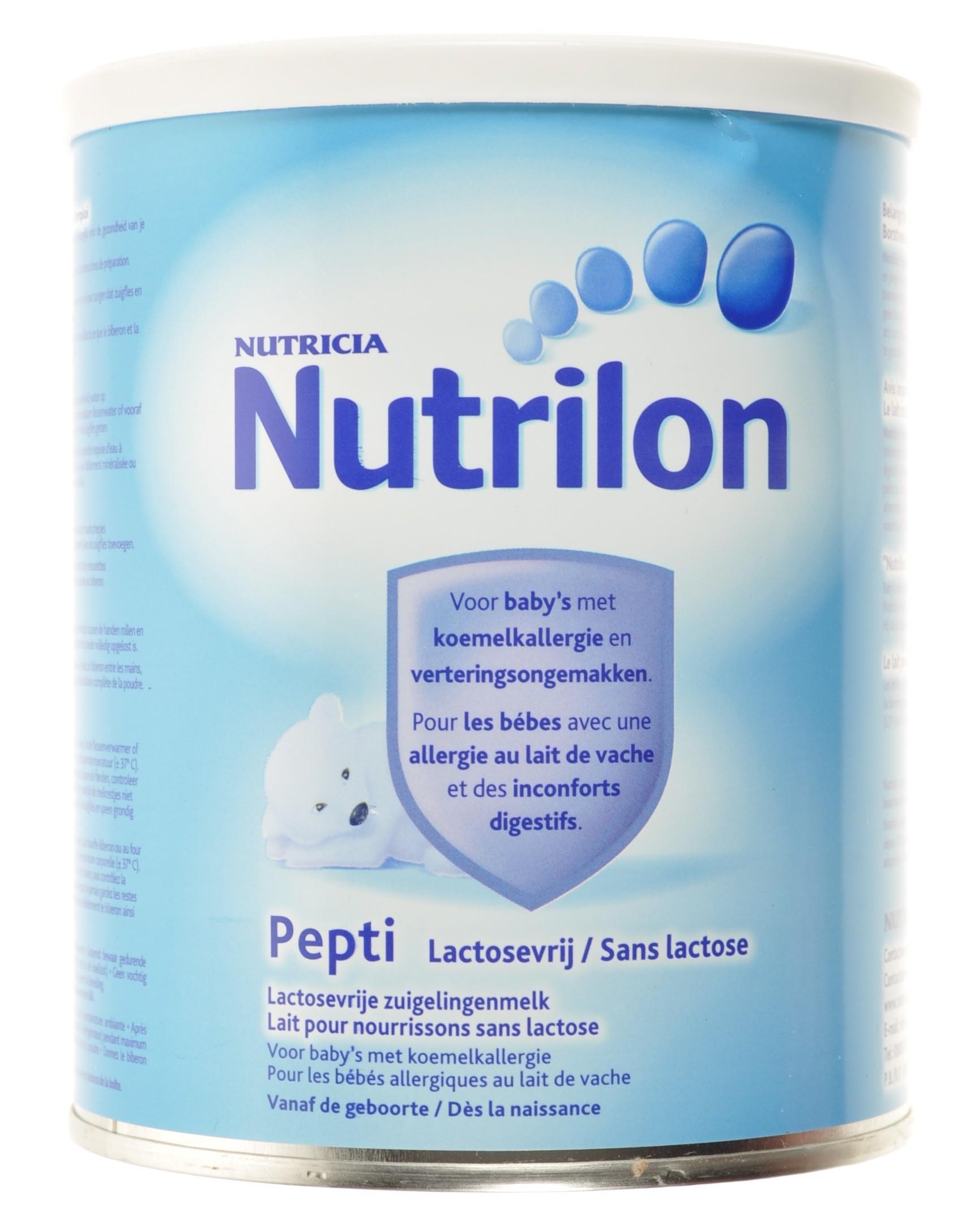 nutrilon pepti sans lactose poudre 450g acheter en ligne. Black Bedroom Furniture Sets. Home Design Ideas