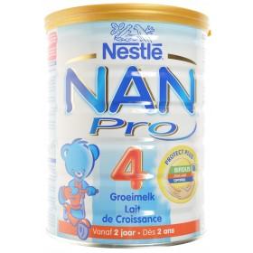 Nan Pro 4 +2ans Lait Croissance poudre 800g