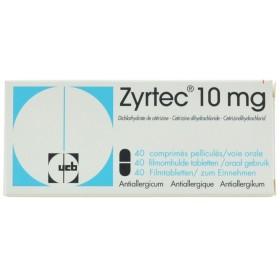 Dosage cetirizine chien