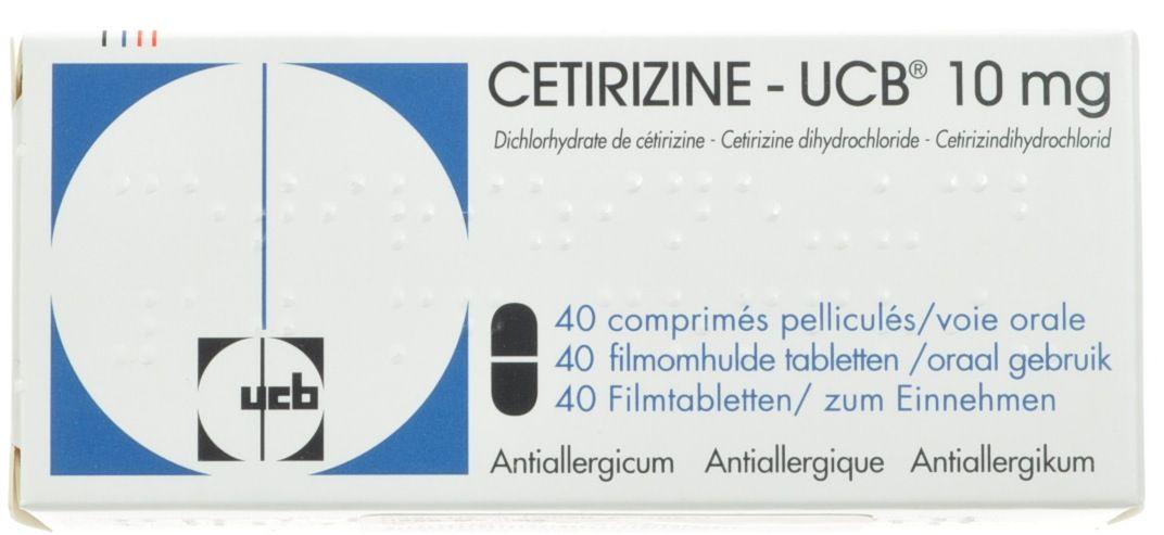 Cetirizine 10 Mg Bid