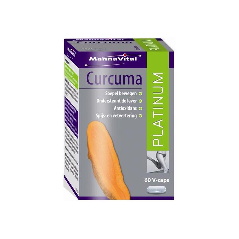 MannaVital Curcuma Platinum V-Capsules 60