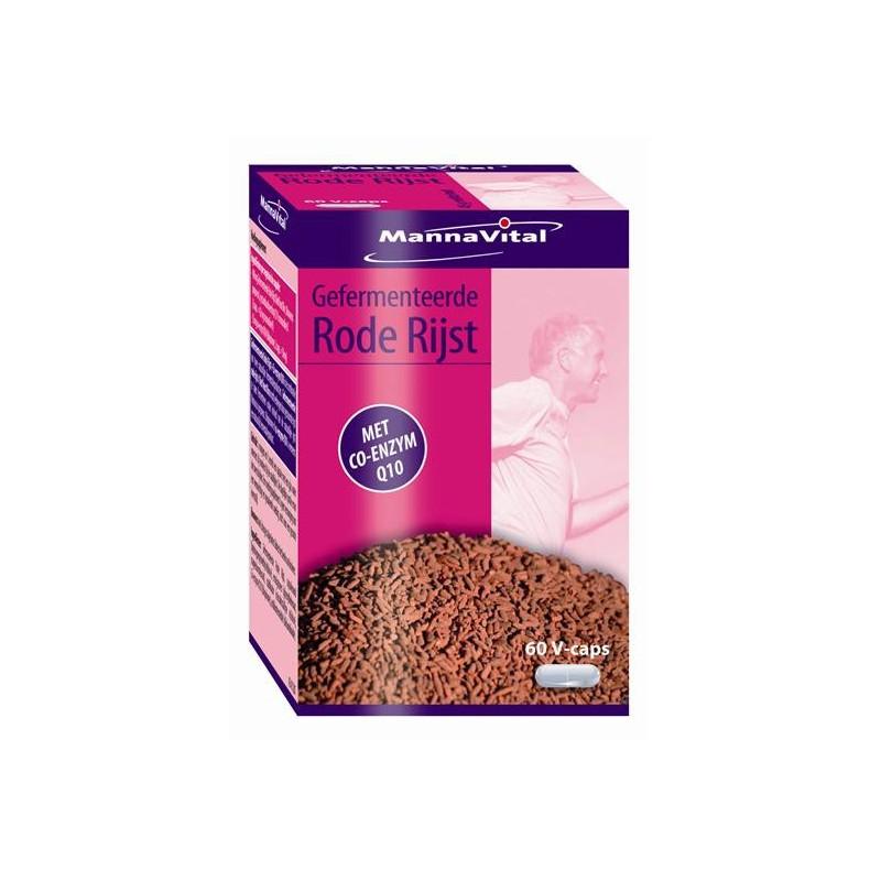MannaVital Riz Rouge Fermente+co Enzyme Q10