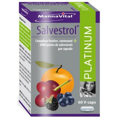 MannaVital Salvestrol Platinum Capsules 60