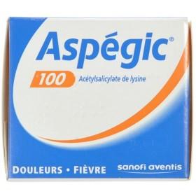 Aspegic 100 Poudre 30x 100mg