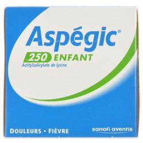 Aspegic 250 Poudre 30x 250mg