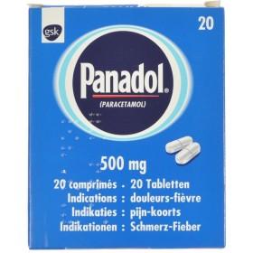 Panadol Comprimés 20x500mg